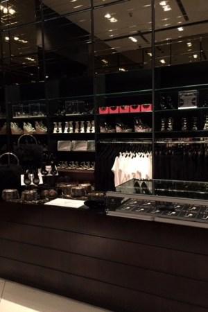 Tamara Mellon's pop-up shop in Miami.