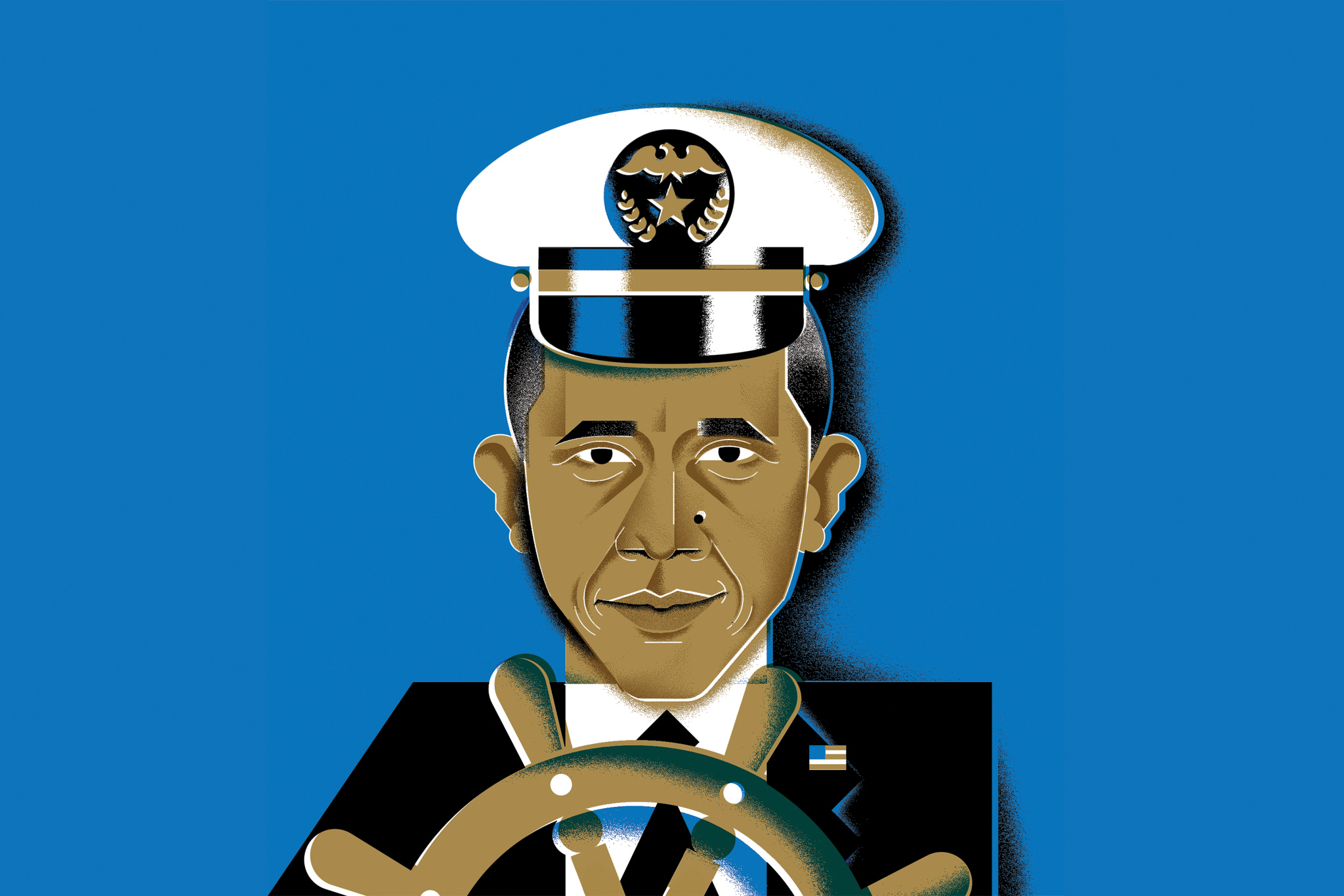 Illustration: Barak Obama