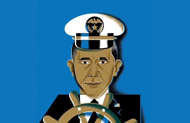 Illustration: Barak Obama