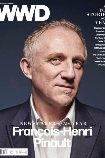 Cover: WWD, December 16, 2015
