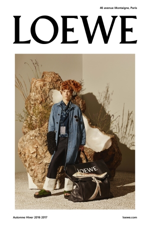A visual of the Loewe fall-winter 2016 campaign