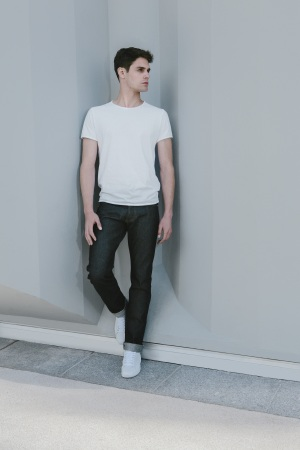 A look from men's line The Faraday Project