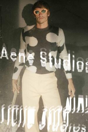 Robin Kegel on Acne Studios' men's campaign for spring 2016.
