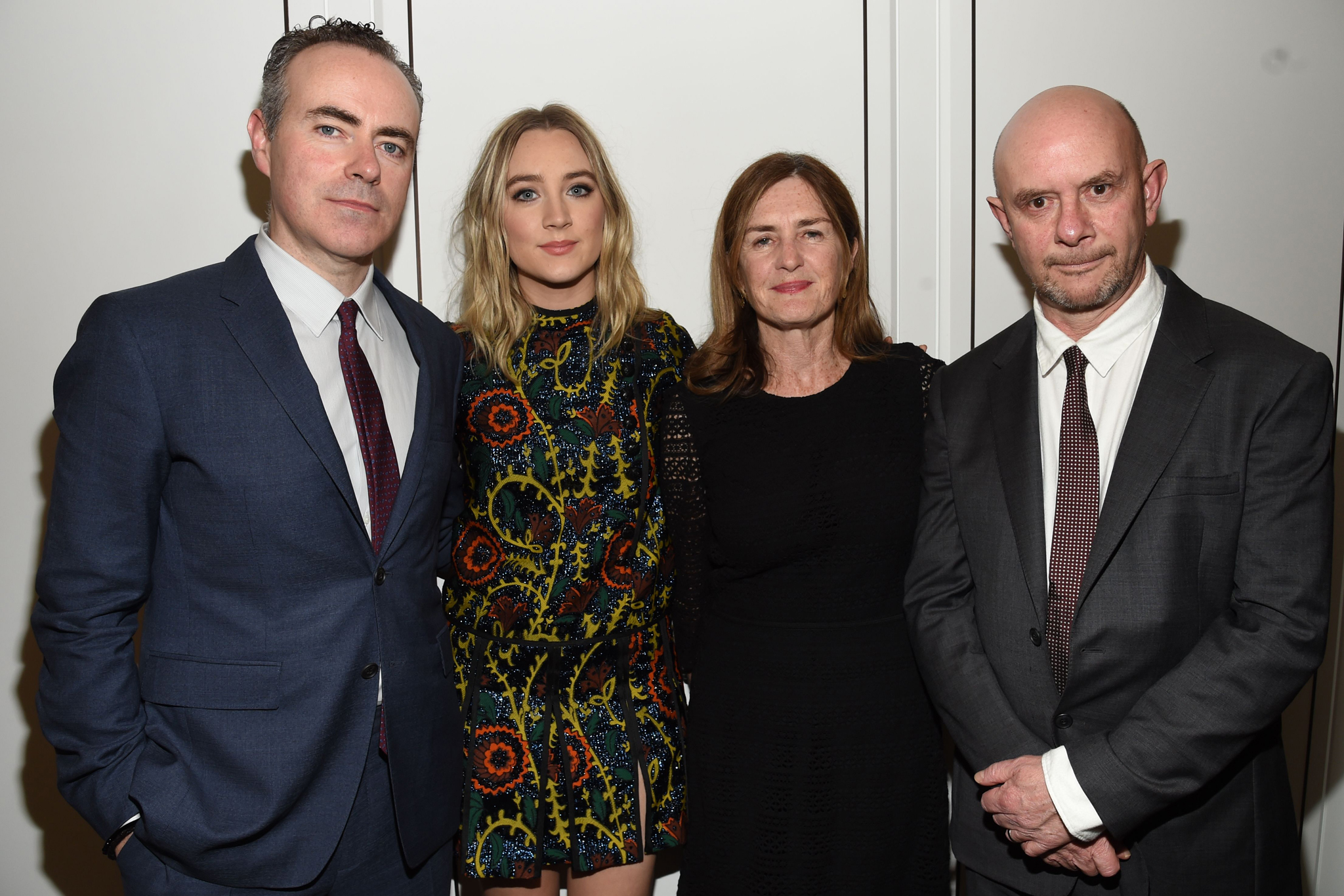 John Crowley, Saoirse Ronan, producer Finola Dwyer and writer Nick Hornby