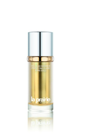 La Prairie's Cellular Radiance Perfecting Fluide Pure Gold.