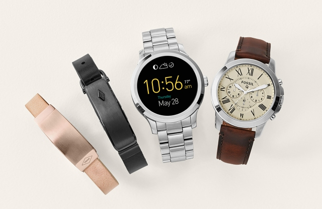Fossil, smartwatch, wearables