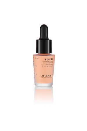 Algenist's new ColorDrops in Apricot.