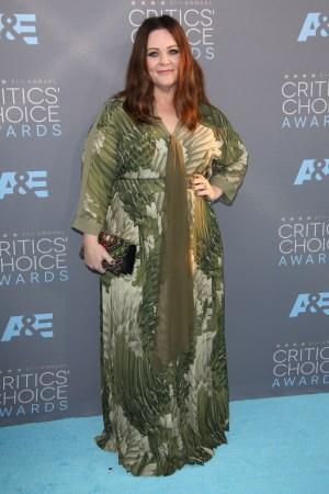 Melissa McCarthy 21st Annual Critics' Choice Awards, Arrivals, Los Angeles, America - 17 Jan 2016