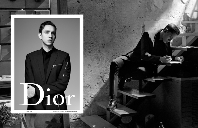 A visual from the Dior Homme Spring/Summer 2016 ad campaign