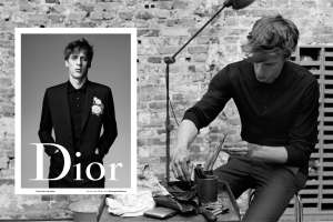 A visual from the Dior Homme Spring/Summer 2016 ad campaign.