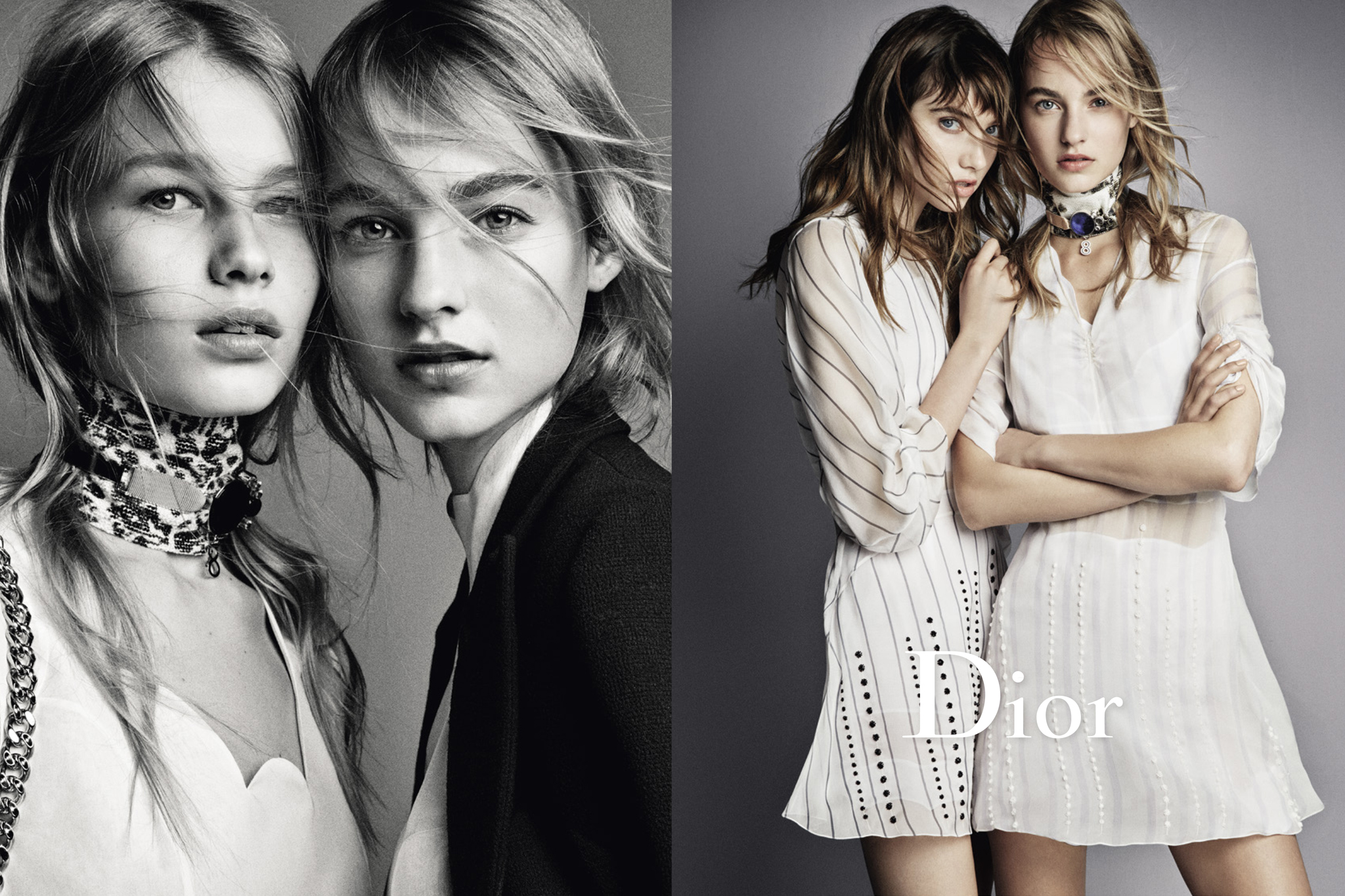 A visual from the Dior spring '16 campaign shot by Patrick Demarchelier