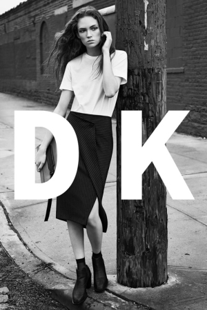 The DKNY spring 2016 ad campaign.