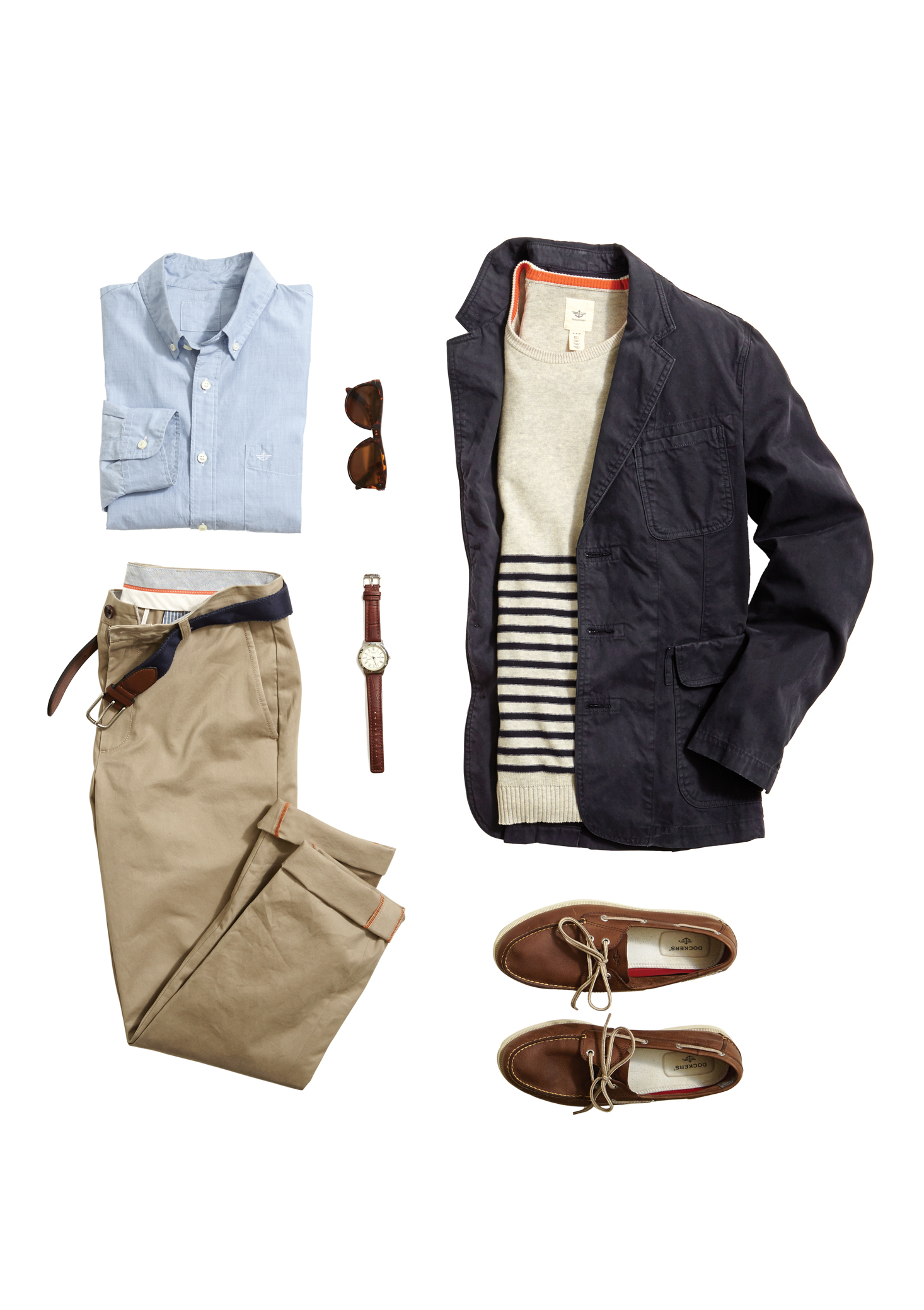 Dockers staples made for an effortless casual work wardrobe.