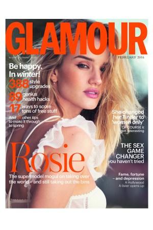 February 2016 Cover Glamour UK