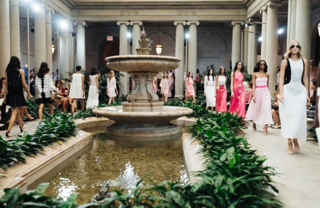 Carolina Herrera is leaving The Frick behind to stage her next show in the Meatpacking district.