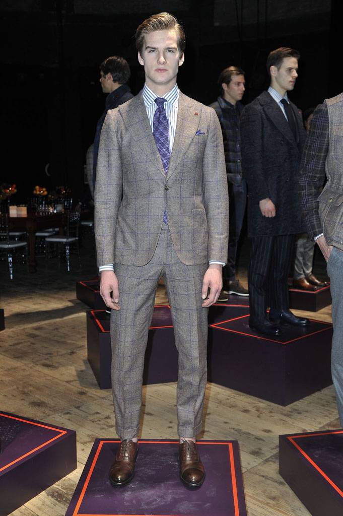Isaia Men's Fall 2016