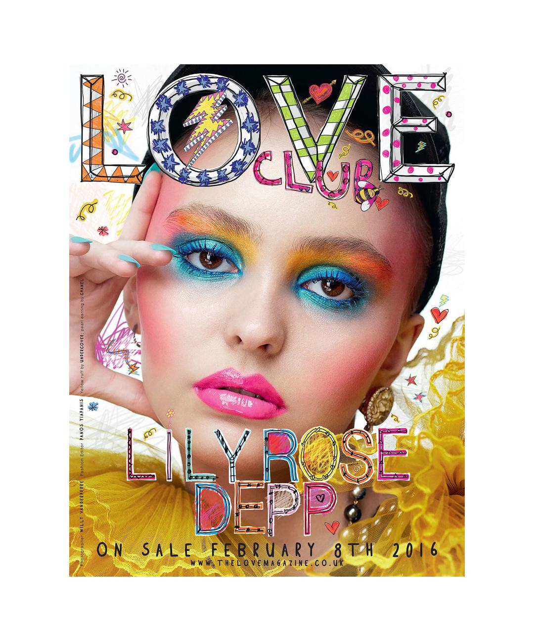 Love Magazine Lily-Rose Depp