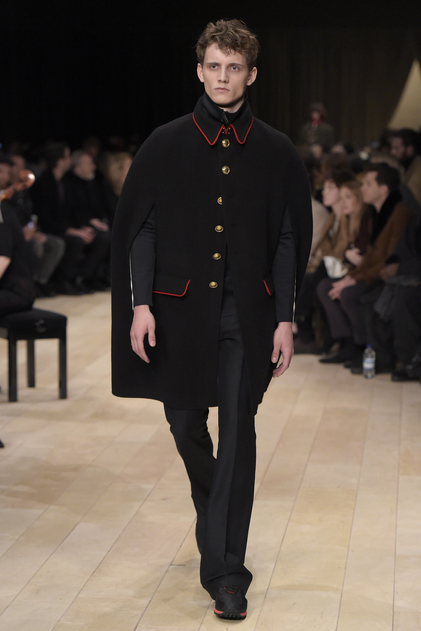Enlisted Men Trend: Burberry Men's Fall 2016
