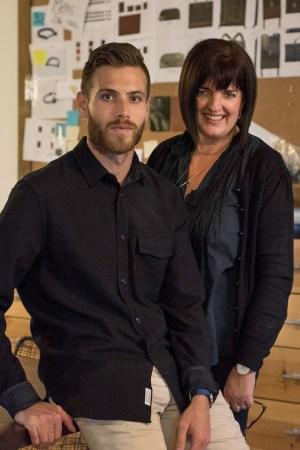 Michael Saiger and Barbara Cook