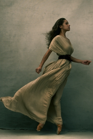 "Misty Copeland in Annie Leibovitz's ""Women: New Portraits"" exhibition"