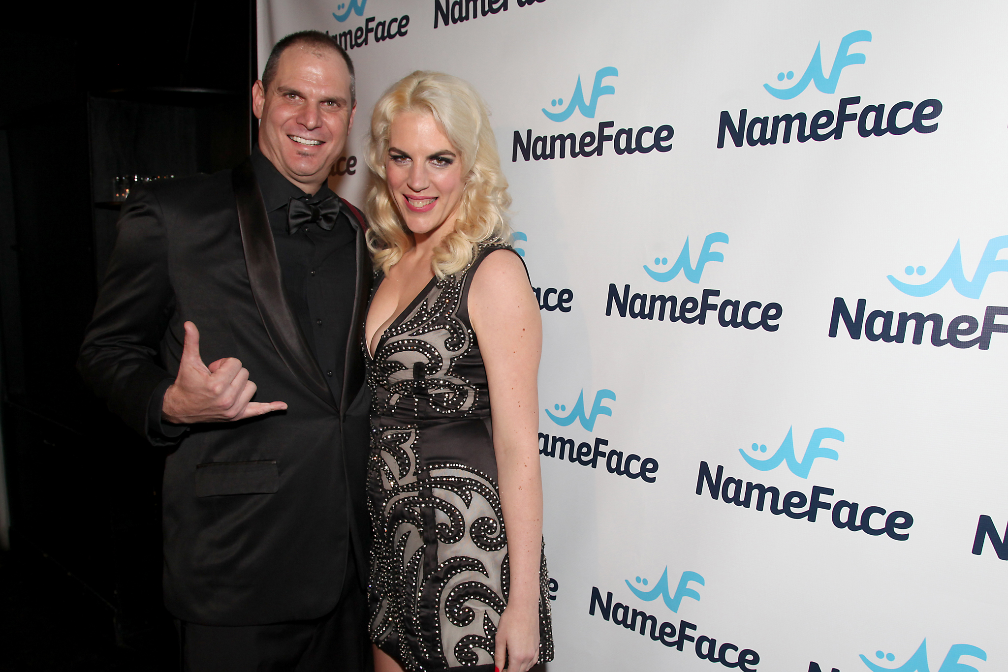 Steve Eichner and Daniela Kirsch NameFace.com launch steve euchre
