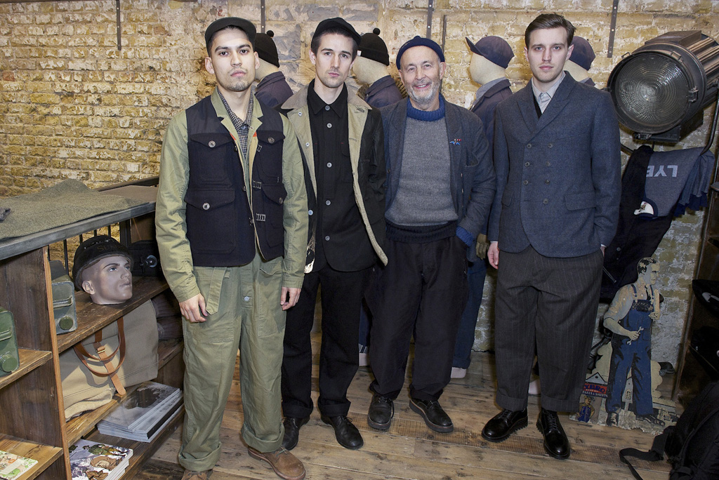 Nigel Cabourn Men's Fall 2016