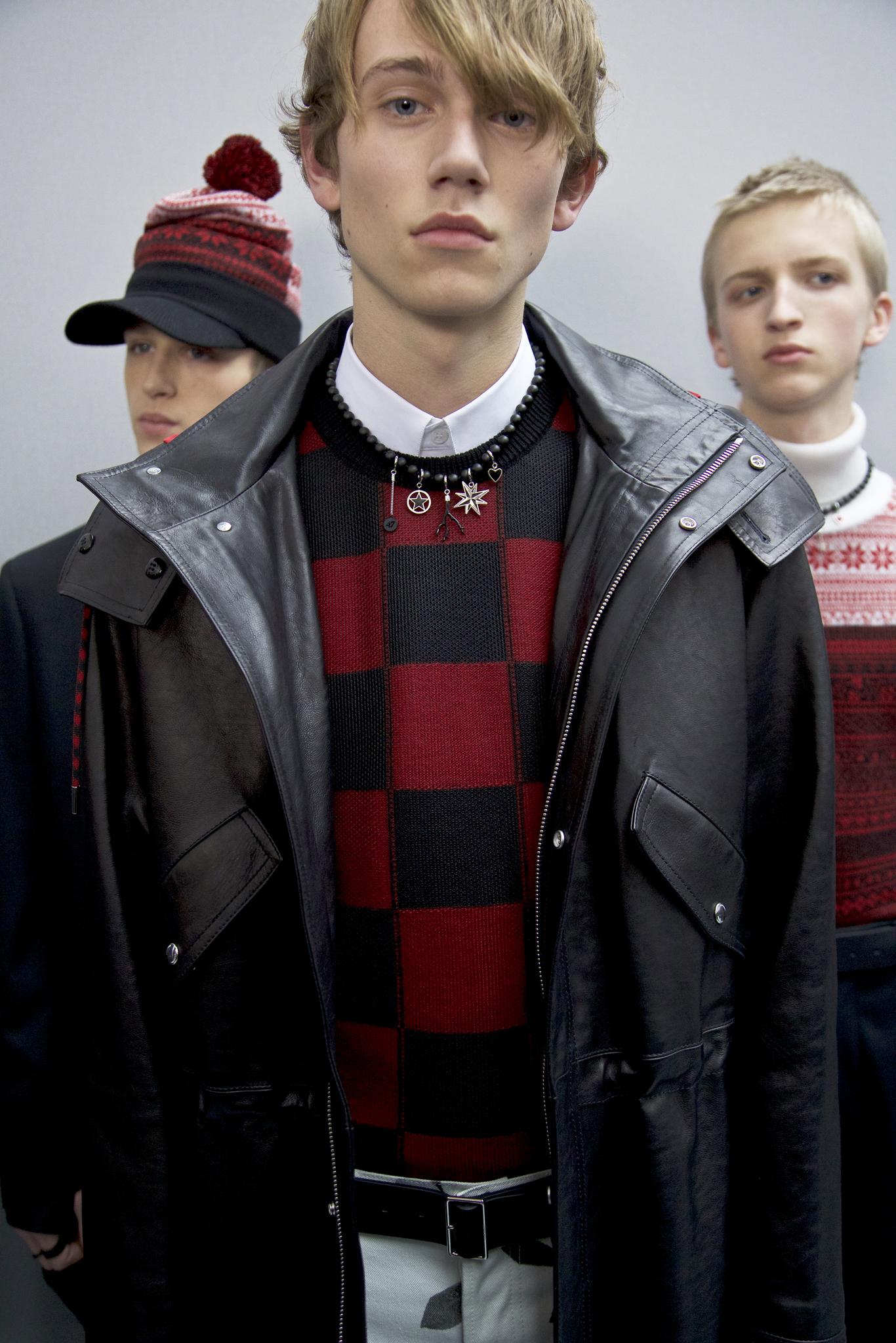 Paris Men's Fall 16 Rebel Trend: Dior Homme Men's Fall 2016