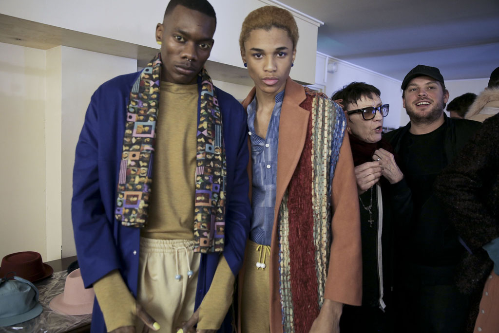 Backstage at Pigalle Paris Men's Fall 2016