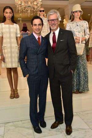 Zac Posen and Claudio Del Vecchio