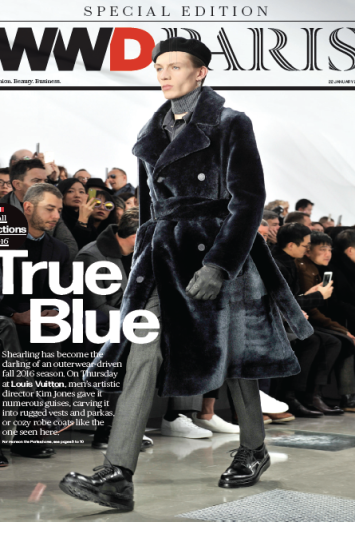 WWD Paris Daily Jan 22 Cover
