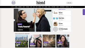 The Hintd Web site.