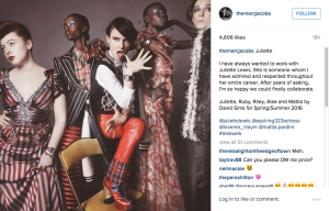 Juliette Lewis to star in Marc Jacobs Campaign for Spring 2016
