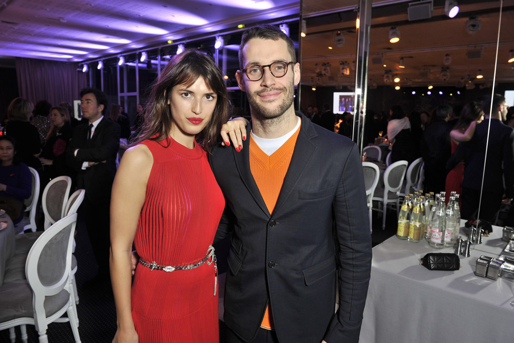 Jeanne Damas and Simone Porte Jacquemus Sidaction Gala Paris Couture Fashion Week Spring 2016