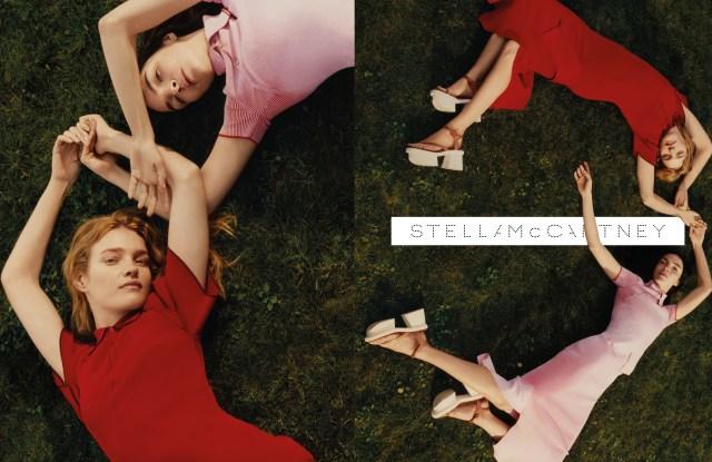 Stella McCartney's Spring/Summer Ad Campaign Natalia Vodianova Maria Carla Boscono