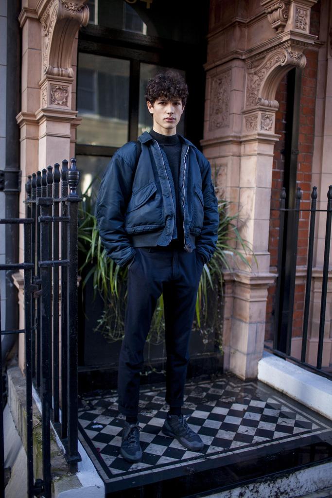 Street Style Men's Fall 2016 Men's Fall 2016