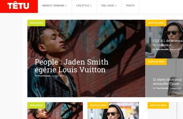 Têtu Web site
