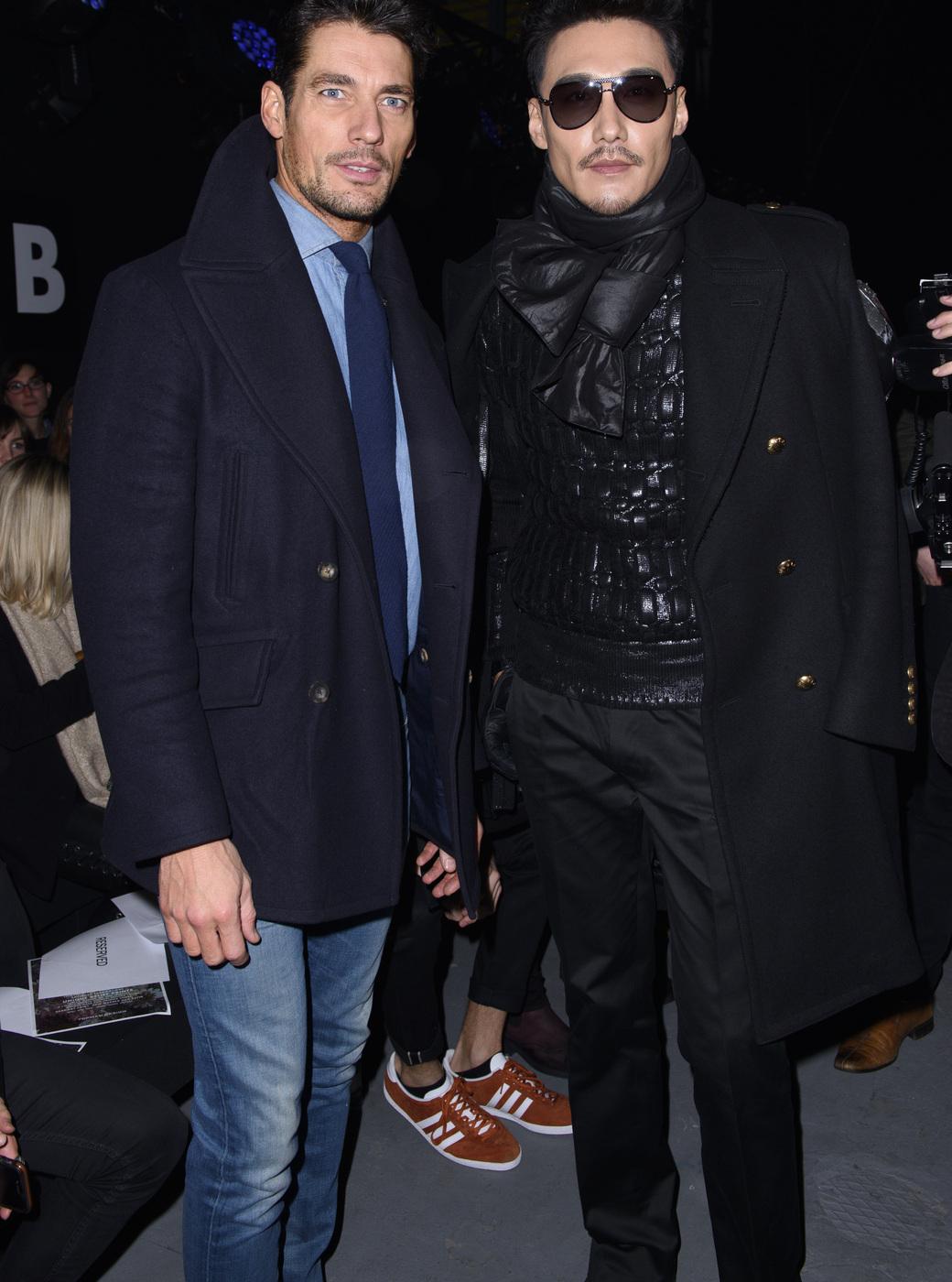 David Gandy and Hu Bing