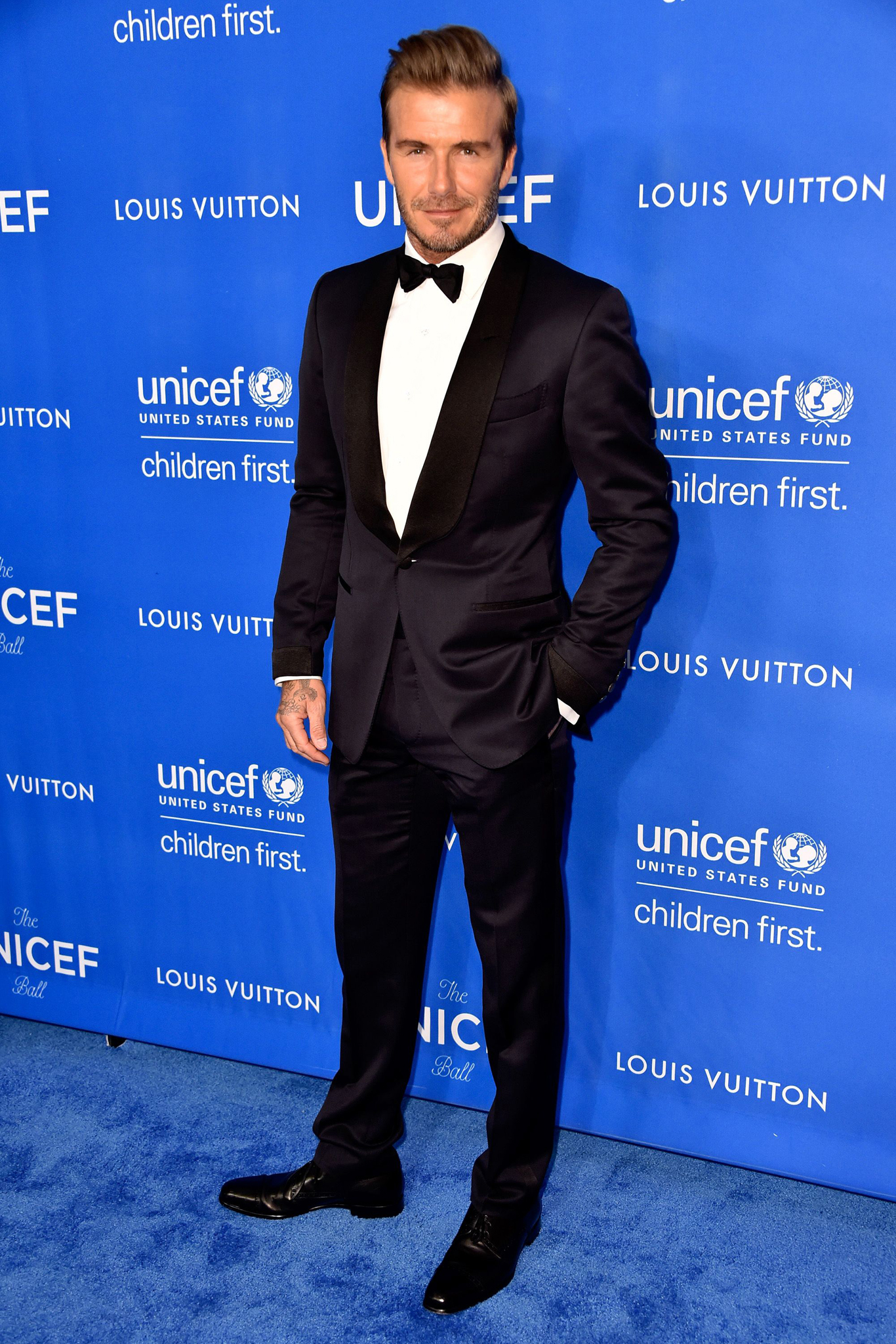 UNICEF Ball honoring David Beckham, Los Angeles, America - 12 Jan 2016