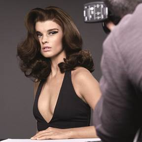 Crystal Renn for Redken