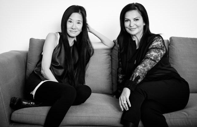 Vera Wang and Veronique Gabai-Pinsky