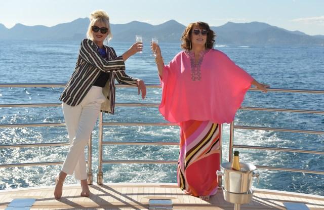 """Absolutely Fabulous: The Movie"" Jennifer Saunders Joanna Lumley"
