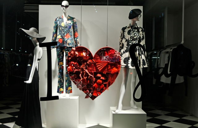 2016 Valentine's Day Store Windows
