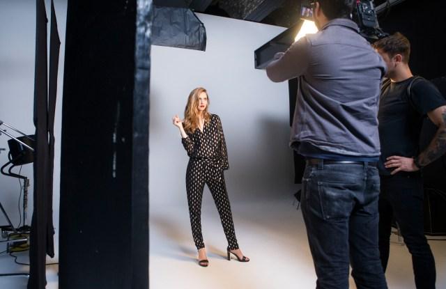 Chiara Ferragni Amazon Fashion's Spring 2016 Campaign Shoot