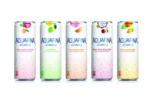 Aquafina is the new hydration sponsor of New York Fashion Week.