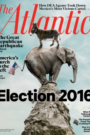 The January/February 2016 issue of The Atlantic.