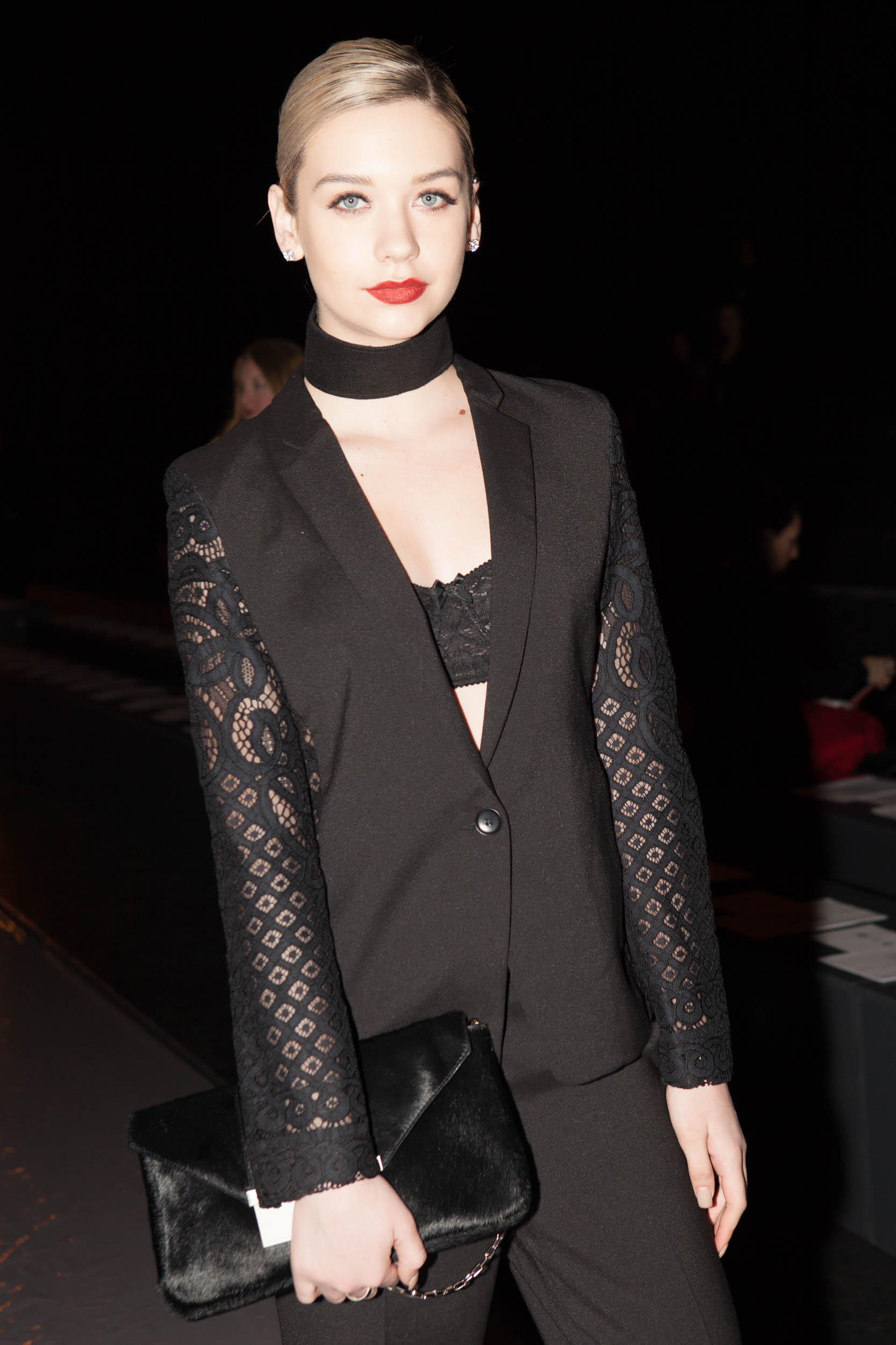 Amanda Steele BCBG Front Row Fall 2015