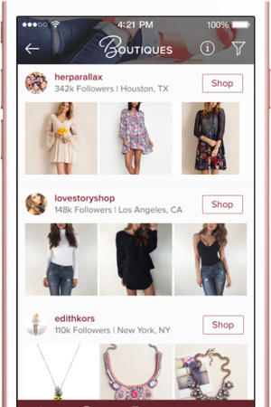 Poshmark recently added a Boutiques section in its expansion into retail.