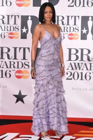 Rihanna in Armani Privé Couture