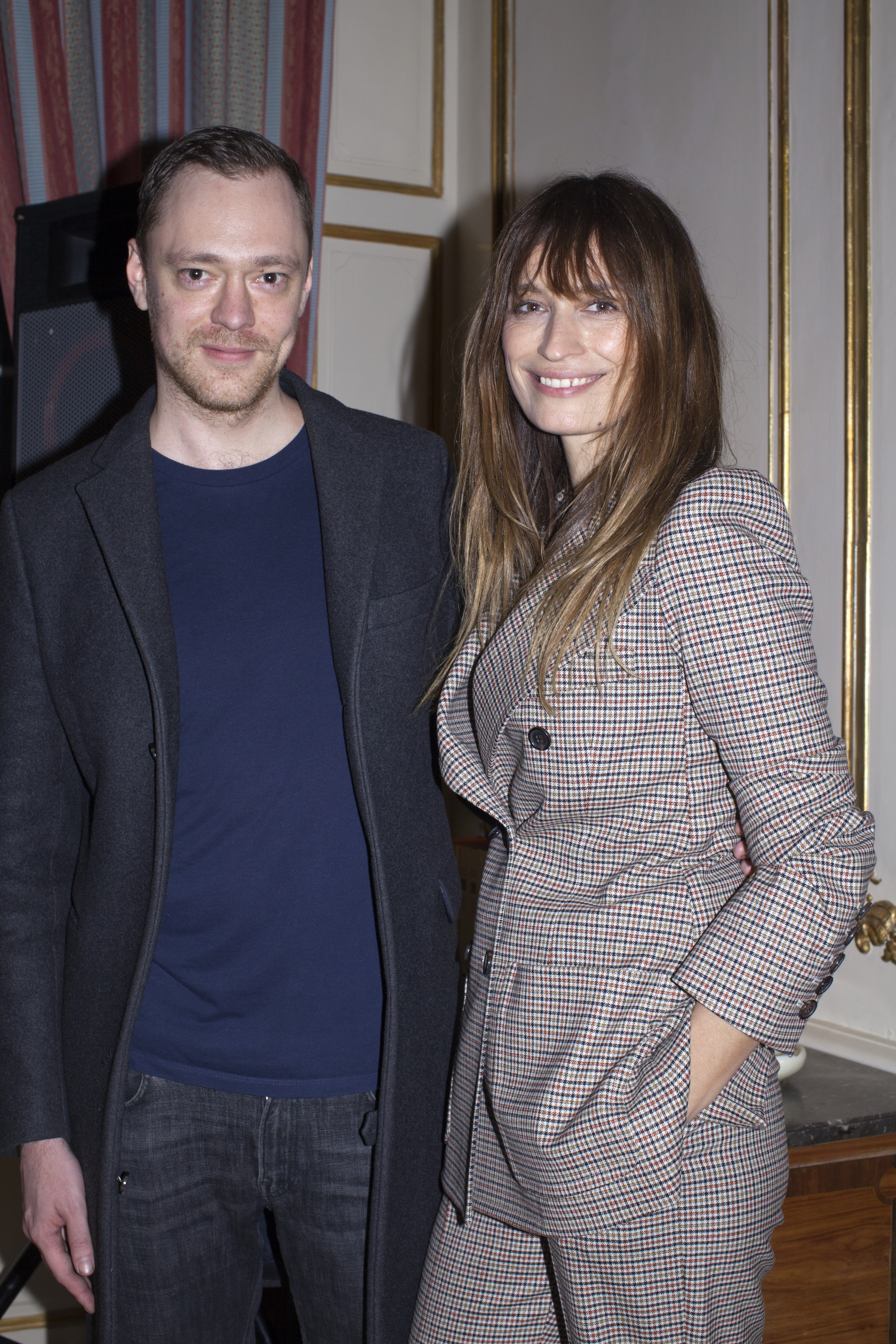 Ole Yde and Caroline de Maigret