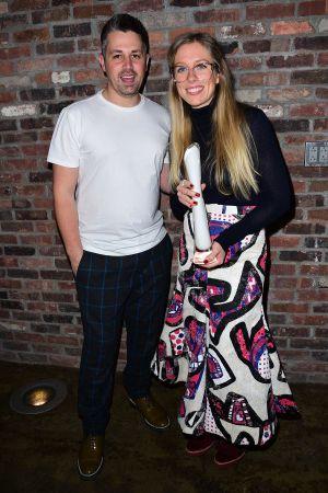 Rob Jones and Catherine Teatum International Woolmark Awards, Runway, Fall Winter 2016, New York Fashion Week, America - 12 Feb 2016